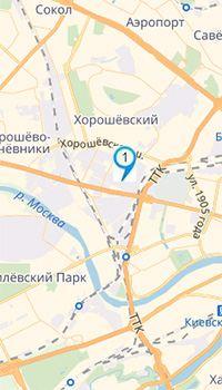 Мы на карте Москвы