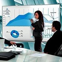 Экран Projecta с функцией маркерной доски
