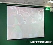 Проекционный экран Draper Vscreen AV (1:1) 274*274 MW