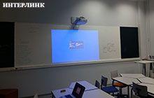 Монтаж интерактивного проектора в Фонде Национальное Интеллектуальное развитие - 1