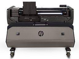 Защитный чехол HP Rugged Case. Вид сзади, чехол открыт