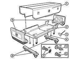 Защитный чехол HP Rugged Case. Схема сборки чехла