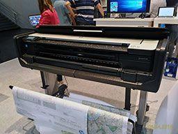 Защитный чехол HP Rugged Case. Плоттер печатает в чехле