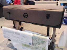 hp DesignJet T830. В чехле на DRUPA