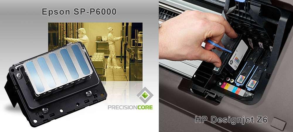 Печатающие головы для Epson P6000, HP Z6