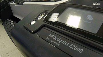 HP DesignJet Z2600 распаковка и запуск. Видео-Live