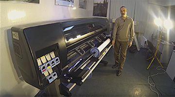 Видео о плоттере Designjet Z6600 и Z6800