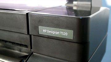 HP Designjet T520 видео