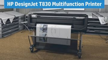 Видео обзор HP Designjet T830