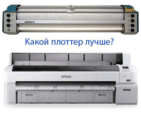 Как выбрать плоттер?