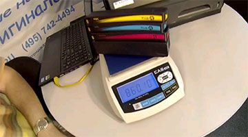 Видео HP OfficeJet Pro X576dw. Проверка скорости и себестоимости печати.