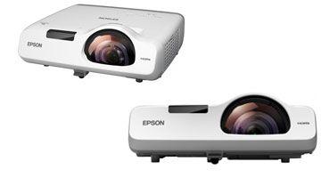 Новые короткофокусные проекторы Epson для образования.
