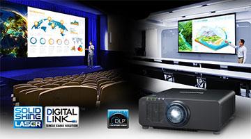 Новые лазерные проекторы Panasonic.