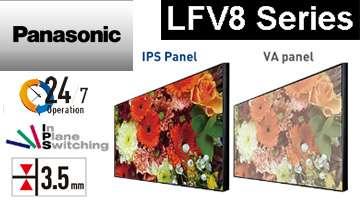 Купить Panasonic LFV8-серия тонкошовных дисплеев для видеостен