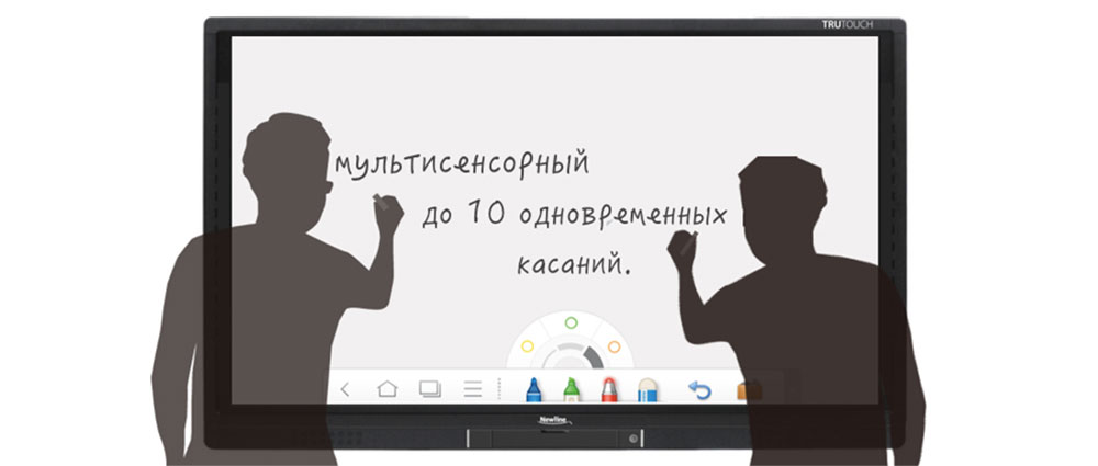 10 касаний в среде Windows