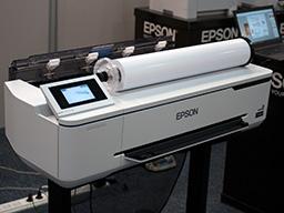 "Epson SureColor SC-T3100, T3100N. Вид с рулоном бумаги"""