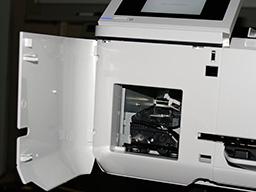 """Epson SureColor SC-T3100, T3100N. Окно замены ножа"""""""