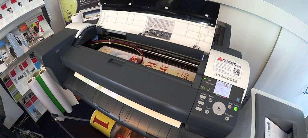 Принтеры Canon ImagePROGRAF для печати вывесок и POS-материалов