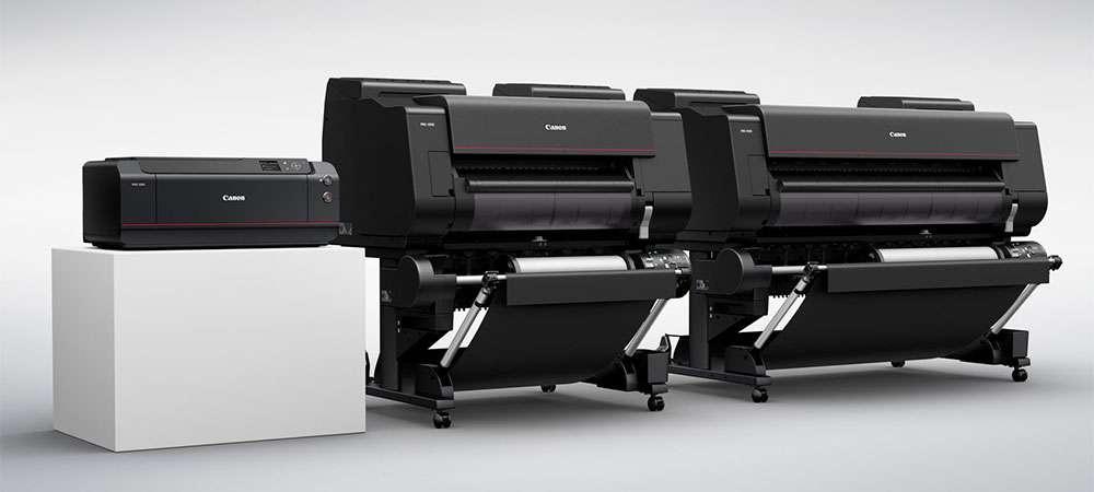 Принтеры Canon ImagePROGRAF для пробной печати