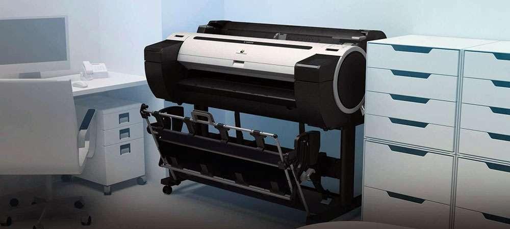 Плоттер Canon ImagePROGRAF для САПР/ГИС-плоттеры