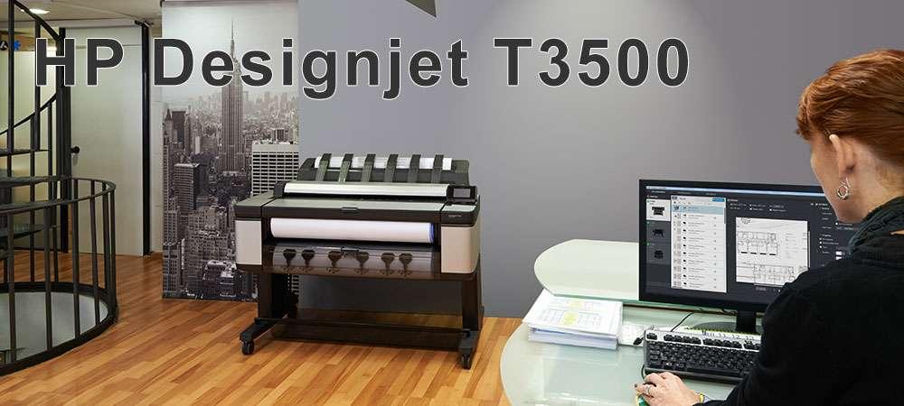 Плоттер HP DesignJet T3500 MFP