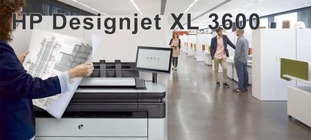 Плоттер HP DesignJet XL 3600 MFP