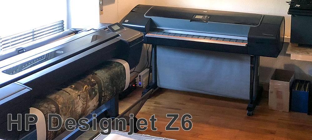 Плоттер HP DesignJet Z6