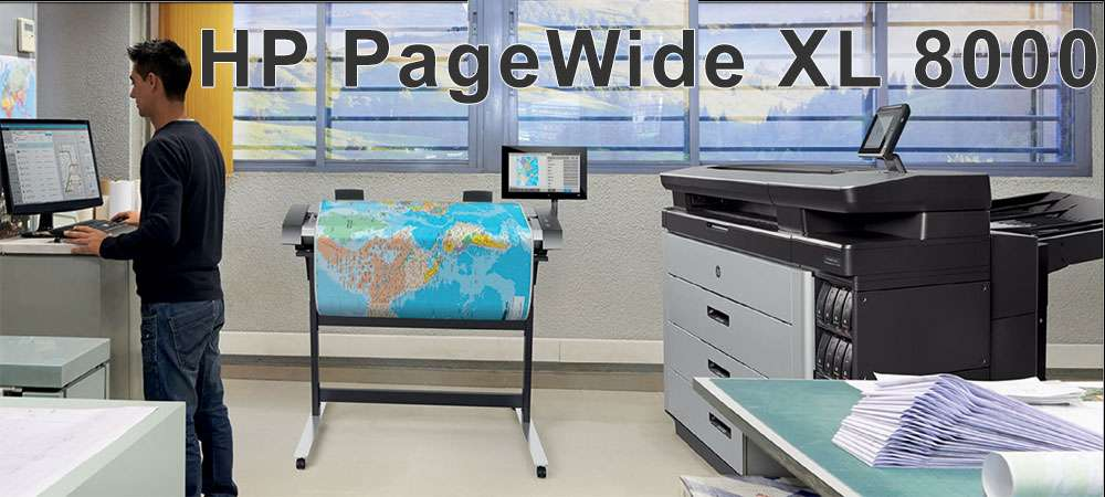 Плоттер HP PageWide XL-8000