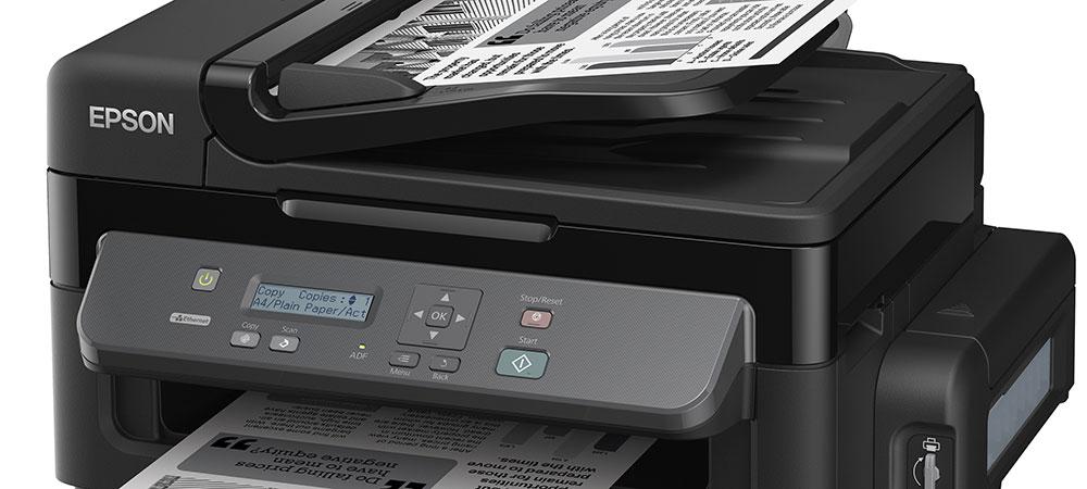 Струйный МФУ Epson, монохромная Фабрика печати