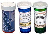 Этикетка медикаментов