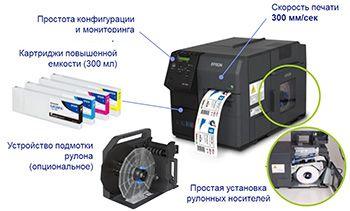 Принтер для этикеток Epson C7500