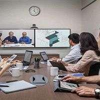 Проектор для видео и телемостов