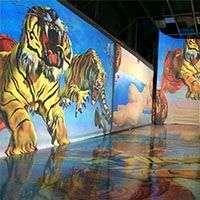 Проектор для выставочного зала