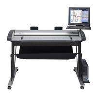 "Contex IQ Quattro 4420 44"" MFP Repro with low stand and basket (5200D012B62A)"