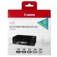 Canon PGI-29-MBK-PBK-DGY-GY-LGY (4868B005)
