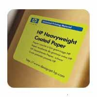 "HP D9R44A ������ � ��������� ��� �������� ������� Heavyweight Coated Paper, ����� A0 36"" 914 �� x 61 �, 120 �/�2, ������ 2"" 50.8 ��,"