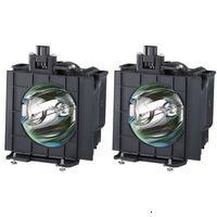 Panasonic ET-LAD40W Лампа для проектора PT-D4000U, PT-D4000E, D4000EL Комплект 2 шт. [GLH-361]