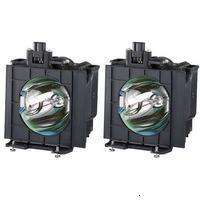 Panasonic ET-LAD7700LW Лампа комплект 2 шт. с увеличенным ресурсом для проектора PT-D7700U, PT-D7700U-K, PT-DW7000U, PT-DW7000U-K,