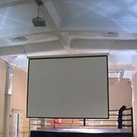 Интерлинк сервис Стандартный монтаж в актовом зале (MONTAJ PROJECTOR+SCREEN-BIG)