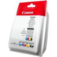 Canon CLI-471 BK/C/M/Y (0401C004)