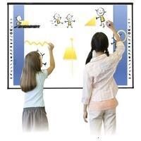 Classic Solution V98 Интерактивная доска, диагональ 98.75 (212.5х117.8 см), формат 16:9, оптическая, пользователей 2, Палец, маркер,
