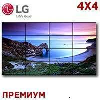 LG LCD Video Wall 4x4 1332587