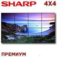 Sharp LCD Video Wall 4x4 1327321