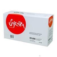 Sakura SADR2090 Фотобарабан DR2090 черный совместимый для HL-2130/2132/2135 DCP-7055 Black 12К