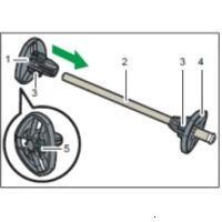 Ricoh Roll Holder Unit Type M23 (404834)