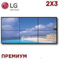 LG LCD Video Wall 2x3 1372604