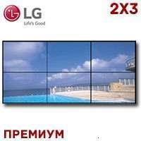 LG LCD Video Wall 2x3 1371597