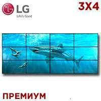 LG LCD Video Wall 3x4 1371597