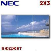 NEC LCD Video Wall 2x3 1382137