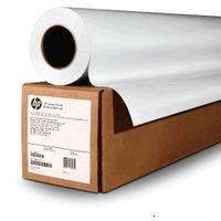 """HP C6810A Бумага без покрытия для плоттера матовая Bright White Inkjet Paper белая, рулон A0 36"""" 914 мм x 91 м, 90 г/м2, втулка 2"""""""